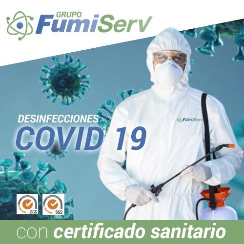 Desinfección COVID 19 en Algeciras